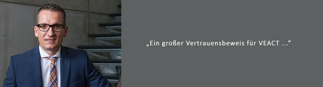 Aftersales Marketing Programm (AMP) – Großauftrag für VEACT